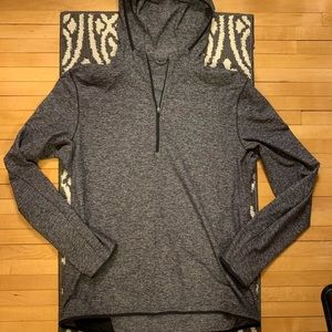 Tops - Heather Gray Quarter ZIP